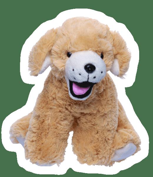 """Goldie de Labrador Hond 8"""" 20cm Teddy Mountain"""