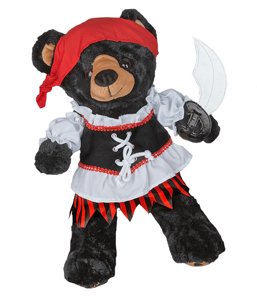 Pirate Girl Outfit 16 inch - 40cm