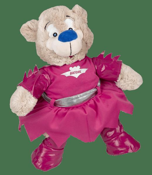 Bat Girl, Outfit, Teddybeer, Knuffelbeer, Knuffelbeest, Knuffeldier, DIYKNUFFEL, DIY-KNUFFEL, Knuffel-Maken, Knuffelmaken, Zelf-Knuffel-Maken, Knuffelwinkel, knuffelstore, knuffelshop, onlineknuffelwinkel, online-Knuffelwinkel, Make-your-Teddy, Teddy-Mountain,