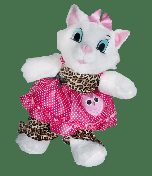 Leuke Leopard uil outfit | Teddy Mountain | Knuffel maken | teddybeer | Knuffelbeer | knuffelbeest | Knuffel | Make Your Teddy | Helmond