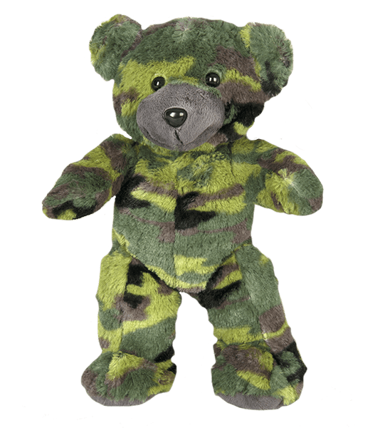 G.I. Camouflage Teddy Beer