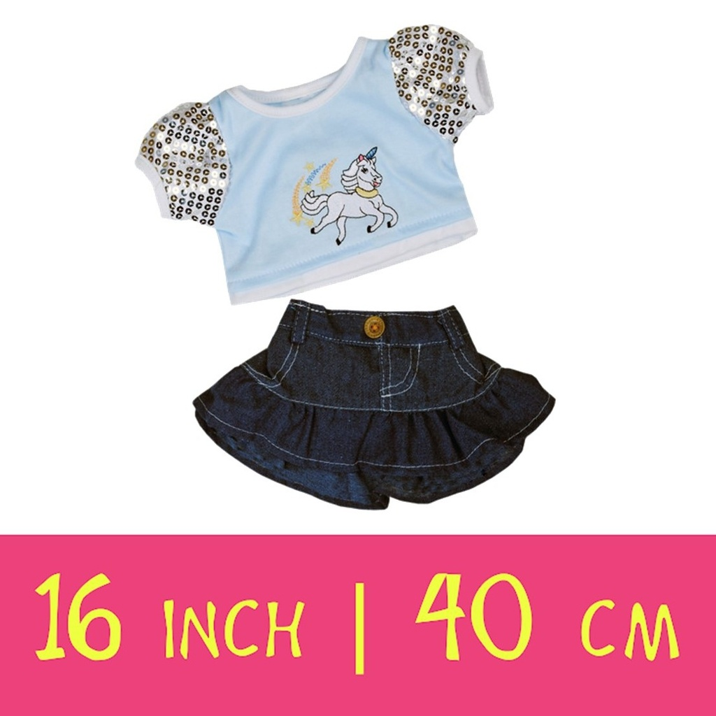 16-inch-outfits, Make-Your-Teddy, Teddy Mountain,