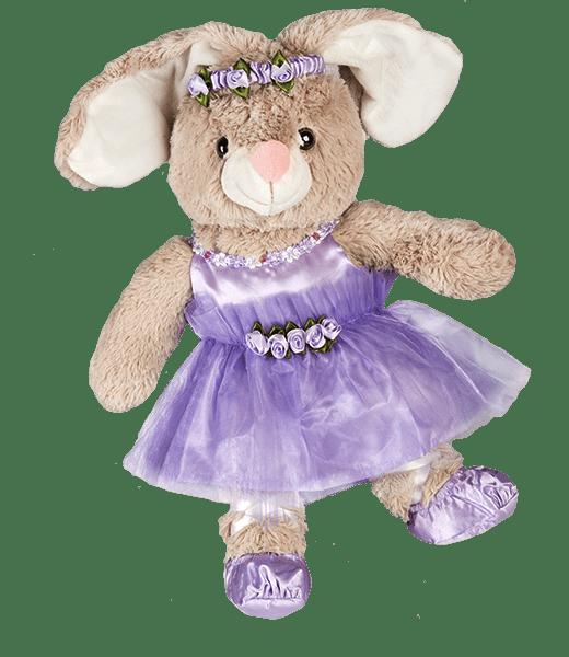 """""""Lavendel"""" Ballerina Pakje Outfit Jurkje Ballet, Teddybeer, Knuffelbeer, Knuffelbeest, Knuffeldier, Knuffeltje, Teddybear, DIYKNUFFEL, DIY-KNUFFEL, Knuffel-Maken, Knuffelmaken, Zelf-Knuffel-Maken, Knuffelwinkel, knuffelstore, knuffelshop, onlineknuffelwinkel, online-Knuffelwinkel, webwinkel, webshop, online, Make-your-Teddy, Build, Bear, Teddybear, Teddy-Mountain,"""