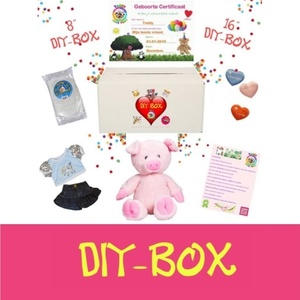 Diy-Box, Cadeau, Geschenk, Gift, , Teddybeer, Knuffelbeer, Knuffelbeest, Knuffeldier, DIYKNUFFEL, DIY-KNUFFEL, Knuffel-Maken, Knuffelmaken, Zelf-Knuffel-Maken, Knuffelwinkel, knuffelstore, knuffelshop, onlineknuffelwinkel, online-Knuffelwinkel, Make-your-Teddy, Teddy-Mountain,