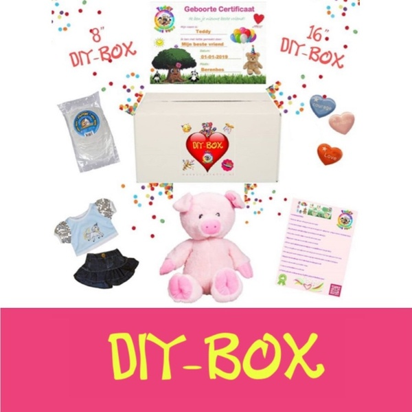 "DIY-BOX 8"" & 16"""