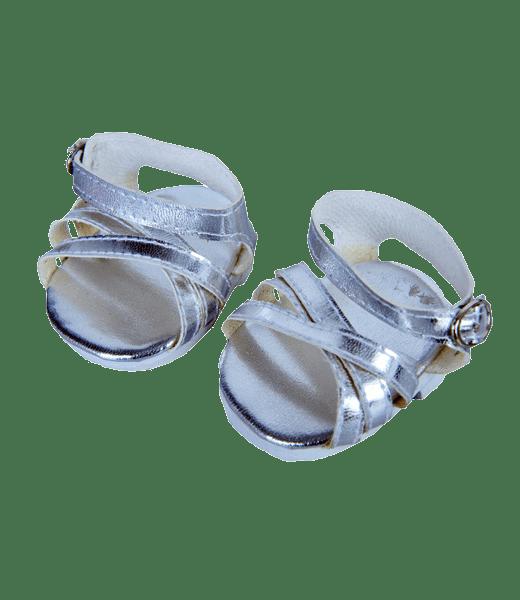 Silver Shine knuffel sandaaltjes, , Teddybeer, Knuffelbeer, Knuffelbeest, Knuffeldier, DIYKNUFFEL, DIY-KNUFFEL, Knuffel-Maken, Knuffelmaken, Zelf-Knuffel-Maken, Knuffelwinkel, knuffelstore, knuffelshop, onlineknuffelwinkel, online-Knuffelwinkel, Make-your-Teddy, Teddy-Mountain,