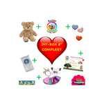 DIYBOX 8 inch COMPLEET, Teddybeer, Knuffelbeer, Knuffelbeest, Knuffeldier, Knuffeltje, Teddybear, DIYKNUFFEL, DIY-KNUFFEL, Knuffel-Maken, Knuffelmaken, Zelf-Knuffel-Maken, Knuffelwinkel, knuffelstore, knuffelshop, onlineknuffelwinkel, online-Knuffelwinkel, webwinkel, webshop, online, Make-your-Teddy, Build, Bear, Teddybear, Teddy-Mountain,