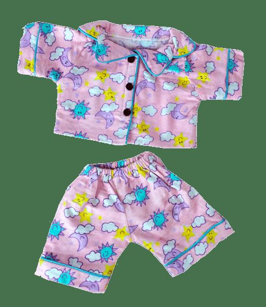 Sunny Days Pink Pyjama Outfit, Teddybeer, Knuffelbeer, Knuffelbeest, Knuffeldier, Knuffeltje, Teddybear, DIYKNUFFEL, DIY-KNUFFEL, Knuffel-Maken, Knuffelmaken, Zelf-Knuffel-Maken, Knuffelwinkel, knuffelstore, knuffelshop, onlineknuffelwinkel, online-Knuffelwinkel, webwinkel, webshop, online, Make-your-Teddy, Build, Bear, Teddybear, Teddy-Mountain,