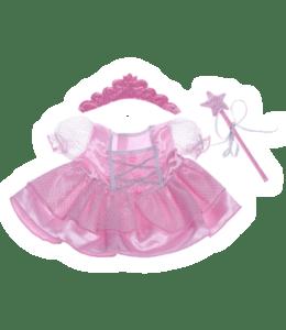 Fee Prinsesje outfit roze met Tiara en Toverstaf, Teddybeer, Knuffelbeer, Knuffelbeest, Knuffeldier, Knuffeltje, Teddybear, DIYKNUFFEL, DIY-KNUFFEL, Knuffel-Maken, Knuffelmaken, KNUFFEL MAKEN, Zelf-Knuffel-Maken, Knuffelwinkel, knuffelstore, knuffelshop, onlineknuffelwinkel, online-Knuffelwinkel, webwinkel, webshop, online, Cadeau, Geschenk, Gift, Kado, Kids, Kinderen, Kinderfeest, Kidsworkshop, Workshop, Make-your-Teddy, Build, Bear, Teddybear, Teddy-Mountain,