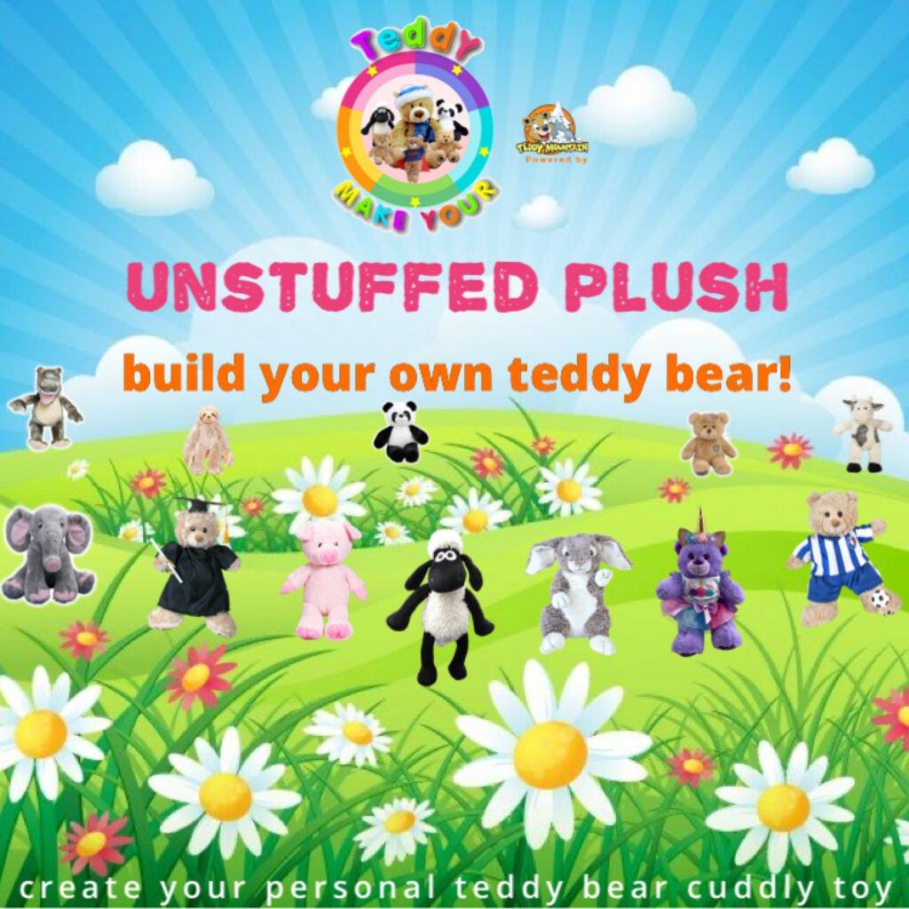UNSTUFFED PLUSH, Teddybeer, Knuffelbeer, Knuffelbeest, Knuffeldier, Knuffeltje, Teddybear, DIYKNUFFEL, DIY-KNUFFEL, Knuffel-Maken, Knuffelmaken, KNUFFEL MAKEN, Zelf-Knuffel-Maken, Knuffelwinkel, knuffelstore, knuffelshop, onlineknuffelwinkel, online-Knuffelwinkel, webwinkel, webshop, online, Cadeau, Geschenk, Gift, Kado, Kids, Kinderen, Kinderfeest, Kidsworkshop, Workshop, Make-your-Teddy, Build, Bear, Teddybear, Teddy-Mountain,