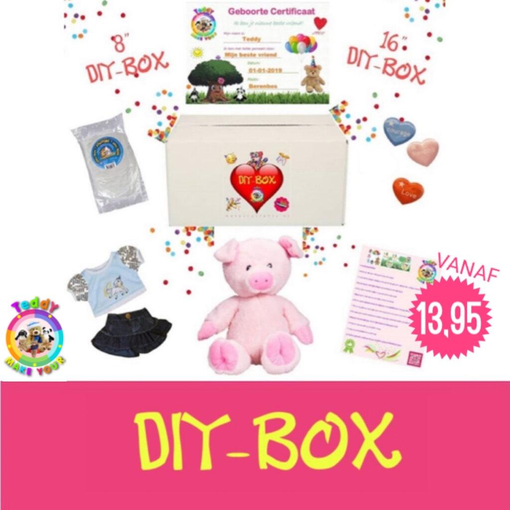 DIY-BOX, Teddybeer, Knuffelbeer, Knuffelbeest, Knuffeldier, Knuffeltje, Teddybear, DIYKNUFFEL, DIY-KNUFFEL, Knuffel-Maken, Knuffelmaken, KNUFFEL MAKEN, Zelf-Knuffel-Maken, Knuffelwinkel, knuffelstore, knuffelshop, onlineknuffelwinkel, online-Knuffelwinkel, webwinkel, webshop, online, Cadeau, Geschenk, Gift, Kado, Kids, Kinderen, Kinderfeest, Kidsworkshop, Workshop, Make-your-Teddy, Build, Bear, Teddybear, Teddy-Mountain,