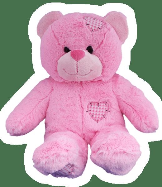 Patches, Teddybeer, Beer, Baby Roze, Baby, Roze,, Teddybeer, Knuffelbeer, Knuffelbeest, Knuffeldier, Knuffeltje, Teddybear, DIYKNUFFEL, DIY-KNUFFEL, Knuffel-Maken, Knuffelmaken, KNUFFEL MAKEN, Zelf-Knuffel-Maken, Knuffelwinkel, knuffelstore, knuffelshop, onlineknuffelwinkel, online-Knuffelwinkel, webwinkel, webshop, online, Cadeau, Geschenk, Gift, Kado, Kids, Kinderen, Kinderfeest, Kidsworkshop, Workshop, Make-your-Teddy, Build, Bear, Teddybear, Teddy-Mountain,