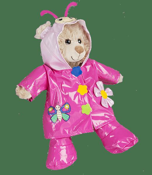 """Vlinder, Regenpakje, Regenjasje, Roze, ,knuffels ,knuffelbeest ,knuffeldier ,knuffel ,teddiebeer ,teddy ,teddie, teddybeer ,teddybear, bear, plush, Stuffed Animals, Unstuffed, Unstuffed Plush, Plushies, teddymountain, build your bear, Helmond, Nederland, zelf knuffel maken, maak je knuffel, www.makeyourteddy.nl, Shop Online, Webshop, Online Knuffels, Teddybeer, Knuffelbeer, Knuffelbeest, Knuffeldier, Knuffeltje, Teddybear, DIYKNUFFEL, DIY-KNUFFEL, Knuffel Maken, Knuffel-maken, Zelf-Knuffel-Maken, Knuffelwinkel, knuffelstore, knuffelshop, onlineknuffelwinkel, online-Knuffelwinkel, Berenshop, Berenstore, Berenwinkel, Teddybeerwinkel, Cuddle, Build Bear, Oberhausen, Duitsland, België, Berenfijn, Berefijn, Beregoed, Berengoed, Atelier, Winkel, Webwinkel, Webshop, Brandstore, Speelgoedwinkel, Speelgoed, Toys, Trend, Online, Cadeau, Geschenk, Gift, Kado, Kids, Kinderen, Kinderfeest, Verjaardagsfeest, Geslaagd, Verjaardag, Partijtje, Feest, Vakantiepark, Bungalowpark, Camping, Animatie, Team, Kidsworkshop, Kidsparty, Kinder, Kinderen, Peuters, Kleuters, Kids, Kindercadeau, Workshop, Make-your-Teddy, Build, Your, Bear, Teddybear, Teddy-Mountain, CE, Keurmerk, Kindveilig, Getest, Kwaliteit, 8"""", 16"""","""