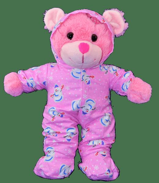 Roze, Sneeuwman, Onesie, Outfit, Teddybeer, Knuffelbeer, Knuffelbeest, Knuffeldier, Knuffeltje, Teddybear, DIYKNUFFEL, DIY-KNUFFEL, Knuffel-Maken, Knuffelmaken, KNUFFEL MAKEN, Zelf-Knuffel-Maken, Knuffelwinkel, knuffelstore, knuffelshop, online knuffelwinkel, online-Knuffelwinkel, webwinkel, webshop, online, Cadeau, Geschenk, Gift, Kado, Kids, Kinderen, Kinderfeest, Kidsworkshop, Kidsparty, Kinder, Kids, Kindercadeau, Workshop, Make-your-Teddy, Build, Bear, Teddybear, Teddy-Mountain,