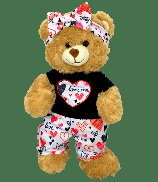 "FUNKY HART OUTFIT, TED0067912403002,,knuffels ,knuffelbeest ,knuffeldier ,knuffel ,teddiebeer ,teddy ,teddie, teddybeer ,teddybear, bear, plush, Stuffed Animals, Unstuffed, Unstuffed Plush, Plushies, teddymountain, build your bear, Helmond, Nederland, zelf knuffel maken, maak je knuffel, www.makeyourteddy.nl, Shop Online, Webshop, Online Knuffels, Teddybeer, Knuffelbeer, Knuffelbeest, Knuffeldier, Knuffeltje, Teddybear, DIYKNUFFEL, DIY-KNUFFEL, Knuffel Maken, Knuffel-maken, Zelf-Knuffel-Maken, Knuffelwinkel, knuffelstore, knuffelshop, onlineknuffelwinkel, online-Knuffelwinkel, Berenshop, Berenstore, Berenwinkel, Teddybeerwinkel, Cuddle, Build A Teddy Bear, Oberhausen, Duitsland, België, Berenfijn, Beregoed, Berengoed, Atelier, Winkel, Webwinkel, Webshop, Brandstore, Speelgoedwinkel, Speelgoed, Toys, Trend, Online, Cadeau, Geschenk, Gift, Kado, Kids, Kinderen, Kinderfeest, Verjaardagsfeest, Geslaagd, Verjaardag, Partijtje, Feest, Vakantiepark, Bungalowpark, Camping, Animatie, Team, Kidsworkshop, Kidsparty, Kinder, Kinderen, Peuters, Kleuters, Kids, Kindercadeau, Workshop, Make-your-Teddy, Build, Your, Bear, Teddybear, Teddy-Mountain, CE, Keurmerk, Kindveilig, Getest, Kwaliteit, 8"", 16"","